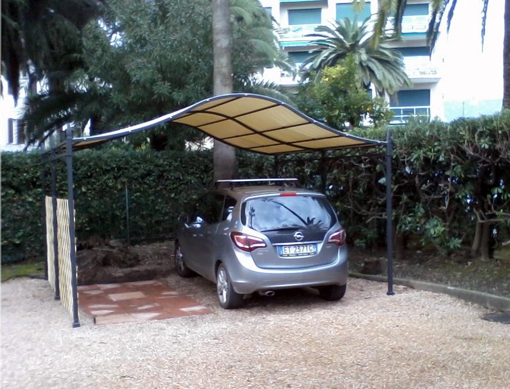 Arquati Rapallo  Pergola autoportante Novecento box auto ferro ...